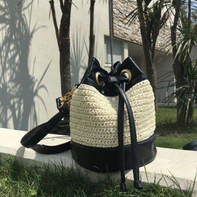 画像2: 巾着バケットバッグ・2WAYショルダーバック (Bucket Bag)