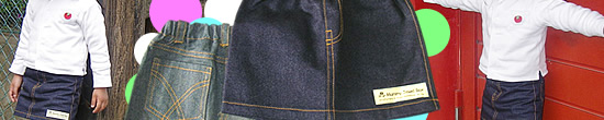 ノーマル&リメイク風ミニスカート