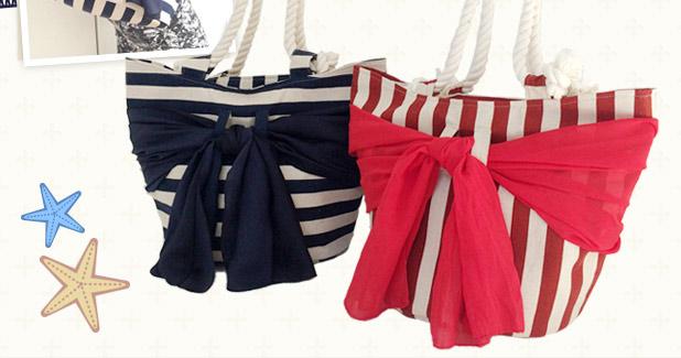 スカーフの柄を楽しんで可愛いトートバッグを作ってみて下さい。