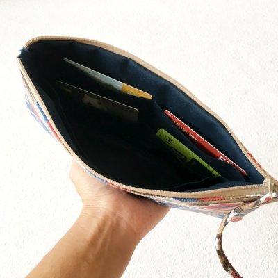 画像2:  MMZ-57  Flora(フローラ)お財布ポーチ・型紙・パターン(3サイズセット)